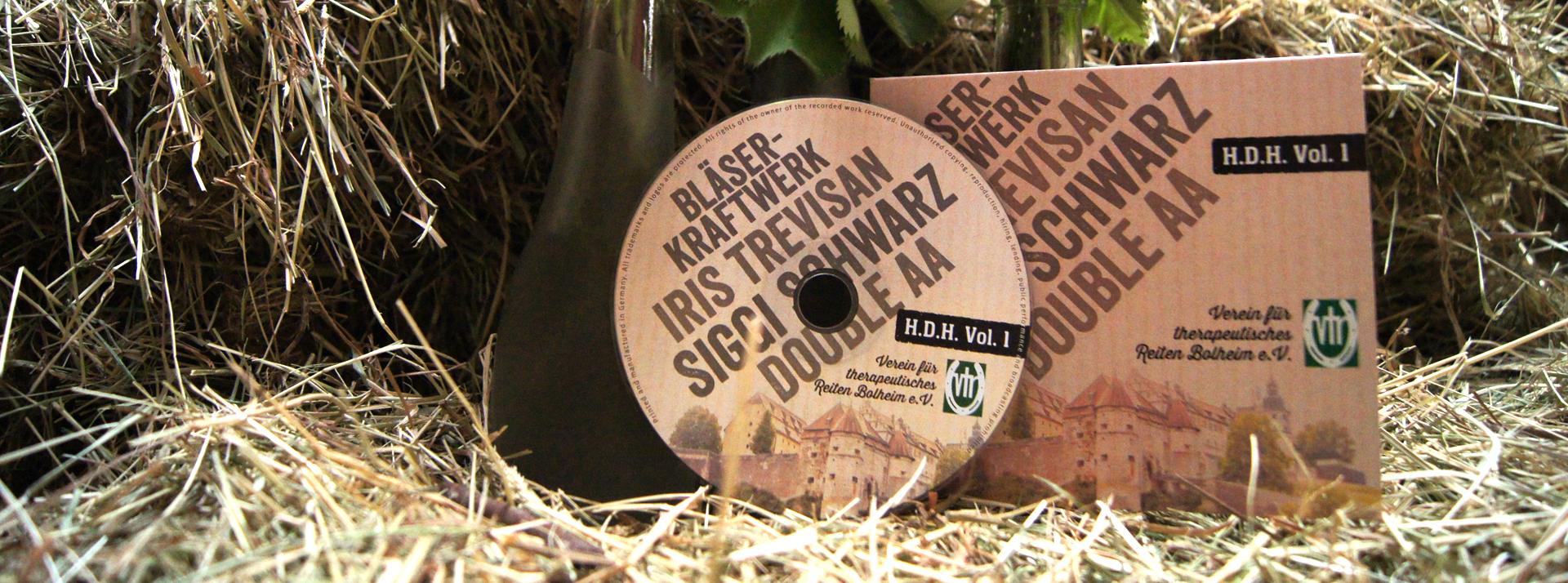 Unsere erste Benefiz CD ist da.