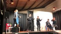 (huGO-ID: 11435376) Tink Theater Bolheim mit der Premiere des Stücks Ein ganz normales Leben FOTO Manuela Wolf